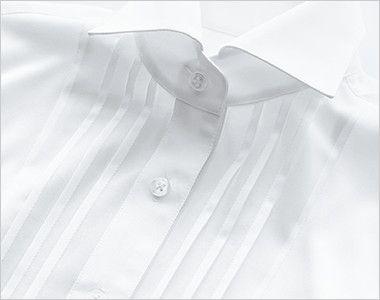 24216 BONUNI(ボストン商会) Tブラウス/五分袖(女性用) ピンタック仕様