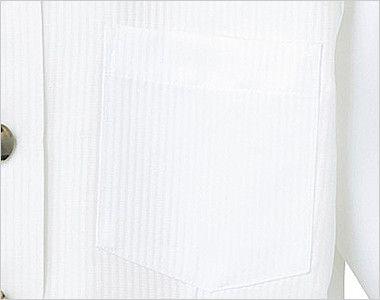 24218 BONUNI(ボストン商会) Tブラウス/五分袖(女性用) ストライプ ポケット