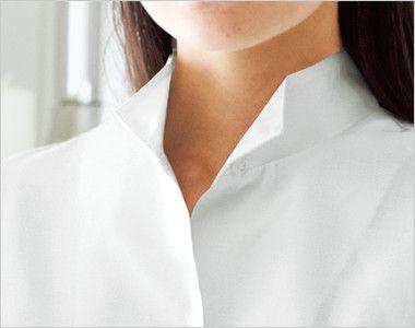 24223 BONUNI(ボストン商会) オックスシャツ/七分袖(女性用) ウィングカラー