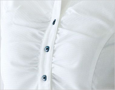 24228 BONUNI(ボストン商会) シャツ/七分袖(女性用) バストギャザー仕立て