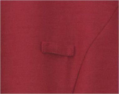 24231 BONUNI(ボストン商会) マオカラーシャツ/七分袖(女性用) ネームプレートループ付