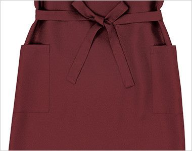 27202 BONUNI(ボストン商会) 胸当てエプロン(女性用) ポケット