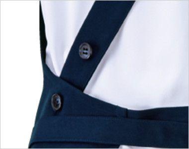 27321 BONUNI(ボストン商会) 胸当てエプロン(男女兼用) 肩紐ループ