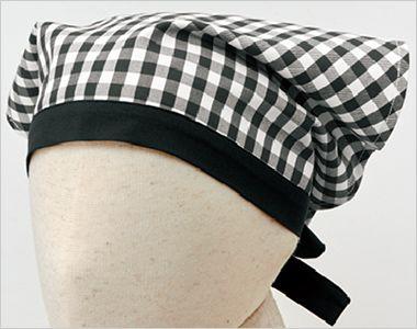 28311 BONUNI(ボストン商会) 三角巾(男女兼用) 先染チェック