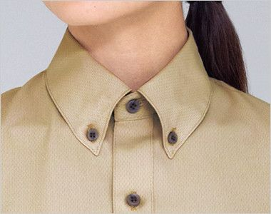 33308 BONUNI(ボストン商会) ボタンダウンシャツ/半袖(男女兼用) ボタンダウン