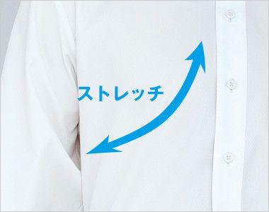 34107 BONUNI(ボストン商会) シャツ/長袖(男性用) ストレッチ素材