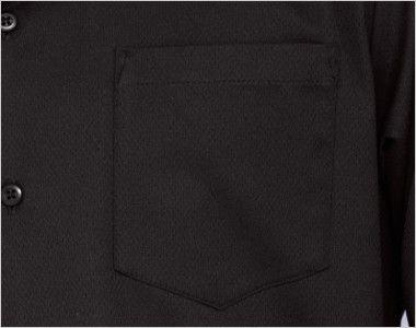 34108 BONUNI(ボストン商会) イタリアンカラーシャツ/長袖(男性用) ポケット