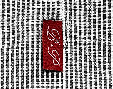 34202 BONUNI(ボストン商会) イタリアンカラーシャツ/七分袖(女性用) チェック ポイント