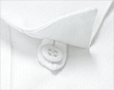 34207 BONUNI(ボストン商会) ベルカラーシャツ/七分袖(女性用) 襟先がはねない隠しボタン付き
