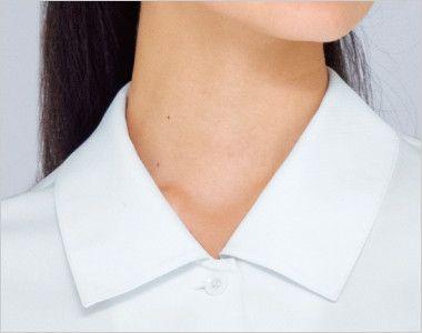 34213 BONUNI(ボストン商会) ブラウス/七分袖(女性用) 女性らしいシンプルな襟元