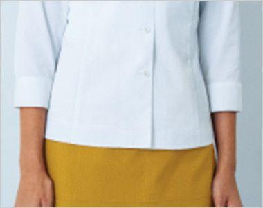 34213 BONUNI(ボストン商会) ブラウス/七分袖(女性用) 細身のデザインを起用