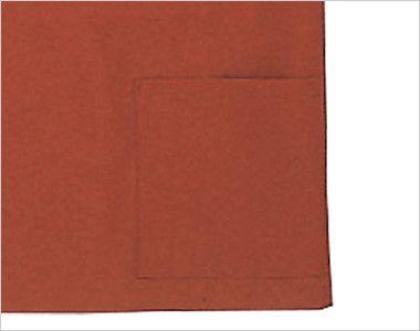 41301 BONUNI(ボストン商会) 作務衣上衣(男女兼用) ちりめん ポケット