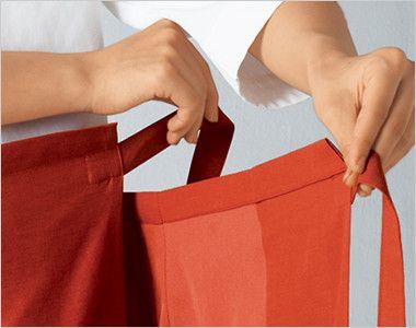 42202 BONUNI(ボストン商会) 和風スカート(女性用) 安心の長めの腰紐
