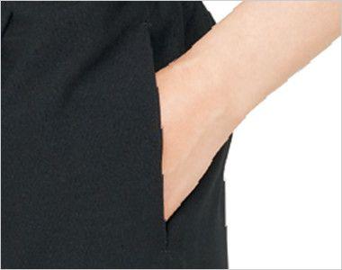 42303 BONUNI(ボストン商会) 和風パンツ(男女兼用) 両脇と右後ろにポケット付き