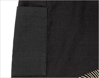 47310 BONUNI(ボストン商会) 和風前掛け(男女兼用) 流連 ポケット(ペン差し付)