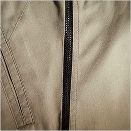 バートル 1103 [春夏用]制電T/Cライトチノ長袖シャツ(男女兼用)  ボディークーラー(両サイド部メッシュ仕様)