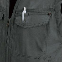 バートル 1104 [春夏用]制電T/Cライトチノサマーベスト(男女兼用) ペンポケット