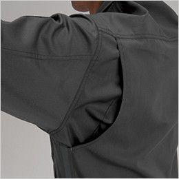 バートル 1201 ソフトツイルジャケット(男女兼用) 背アームノーフォーク