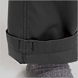 バートル 1202 ソフトツイルカーゴパンツ 裾上げNG(男女兼用)  しぼりひも通し穴