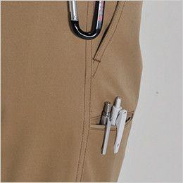 [在庫限り/返品交換不可]バートル 1500 T/Cソフトツイルレディースパンツ(女性用) ペンポケット付き