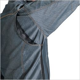 バートル 1511 [春夏用]ヘリンボーン&T/Cライトチノジャケット(男女兼用) アームノーフォーク