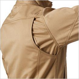 バートル 1701 [秋冬用]T/Cソフトツイル長袖ジャケット(JIS T8118適合)(男女兼用) 内ポケット