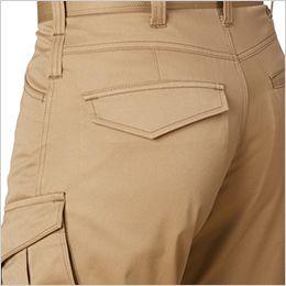 バートル 1702 [秋冬用]T/Cソフトツイルカーゴパンツ(男女兼用)  ピスフラップポケット