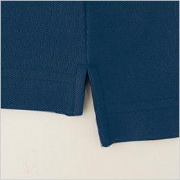 [在庫限り/返品交換NG] バートル 203 カノコ長袖ポロシャツ(胸ポケット有り)(男女兼用)  スリットandカラーカン止め