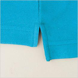 [在庫限り/返品交換NG] バートル 205 カノコ半袖ポロシャツ(胸ポケット有り)(男女兼用)  スリット