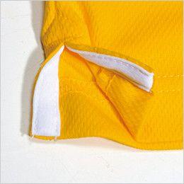 バートル 305 ドライメッシュ半袖ポロシャツ(左袖ポケット付)(男女兼用)  スリット