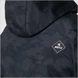 バートル 3190 ストレッチフーデッドジャケット(男女兼用) カフスアジャスター