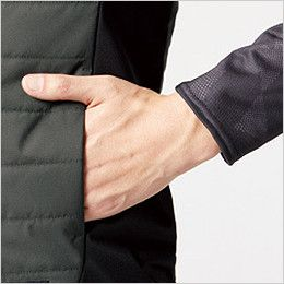 バートル 3214 [秋冬用]ストレッチ軽防寒ベスト サーモクラフト対応(男女兼用) ウォームポケット