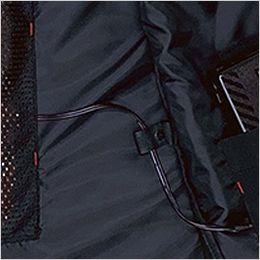 バートル 3214 [秋冬用]ストレッチ軽防寒ベスト サーモクラフト対応(男女兼用) コードストッパー(ドットボタン止め)