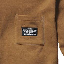 バートル 4060 ストレッチロングTシャツ(男女兼用) 胸ポケット