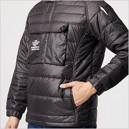 バートル 4062 防寒アノラックパーカー(男性用) ウォームポケット