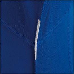 バートル 415 [春夏用]ドライメッシュ半袖ジップシャツ[左袖ポケット付](男女兼用) 消臭テープ仕様