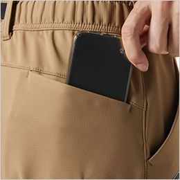 バートル 422 [秋冬用]ホットカーゴパンツ(男女兼用) Phone収納バックポケット※着席時スマホが干渉しないポケット