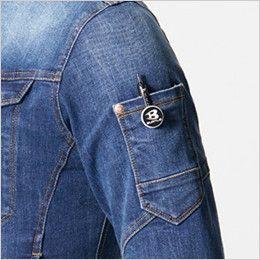 バートル 5001 [秋冬用]ストレッチデニムジャケット(男女兼用) ペンポケット