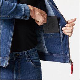 バートル 5001 [秋冬用]ストレッチデニムジャケット(男女兼用) 内ポケット