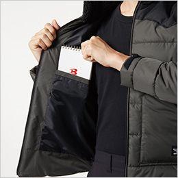 バートル 5020 [秋冬用]コーデュラ・ヒータージャケット サーモクラフト対応(男女兼用) 内ポケット