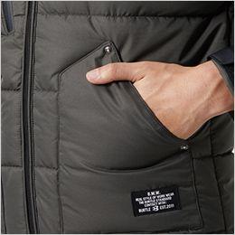バートル 5020 [秋冬用]コーデュラ・ヒータージャケット サーモクラフト対応(男女兼用) ウォームポケット