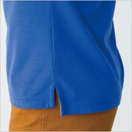 バートル 505 カノコ長袖ポロシャツ[左袖ポケット付](男女兼用) スリット