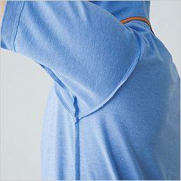 バートル 507 カノコ半袖ポロシャツ(男女兼用)[左袖ポケット付] 消臭テープ仕様