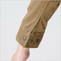 バートル 5201 ヴィンテージサテンジャケット(綿100%)(男女兼用)  カフスアジャスター