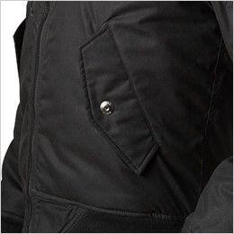 バートル 5260 [秋冬用]MA-1 フライト防寒ジャケット(男女兼用) ウォームアップポケット