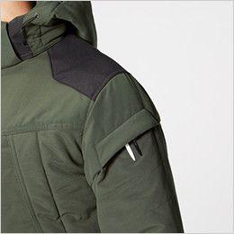 バートル 5270 [秋冬用]防寒ジャケット(大型フード付き) サーモクラフト対応(男女兼用) ペンさし
