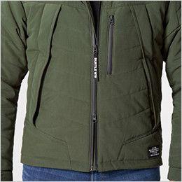 バートル 5270 [秋冬用]防寒ジャケット(大型フード付き) サーモクラフト対応(男女兼用) ダブルジップ仕様