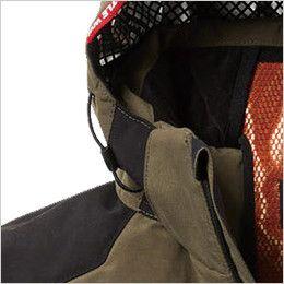 バートル 5270 [秋冬用]防寒ジャケット(大型フード付き) サーモクラフト対応(男女兼用) 電熱パッド止めドットボタン
