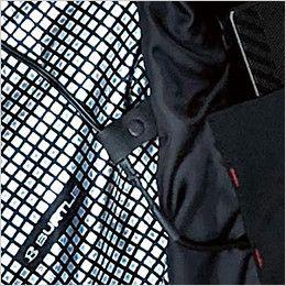 バートル 5274 [秋冬用]防寒ベスト(大型フード付き) サーモクラフト対応(男女兼用) コードストッパー(ドットボタン止め)
