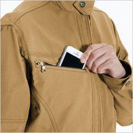 バートル 5308 T/C リップクロスレディースジャケット(女性用) Phone収納ポケット